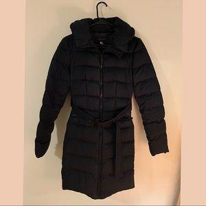Zara Woman Belted Down Puffer Jacket w/Hood